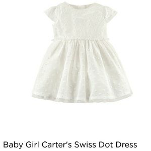 Carter's Dresses - Carter's formal white dress